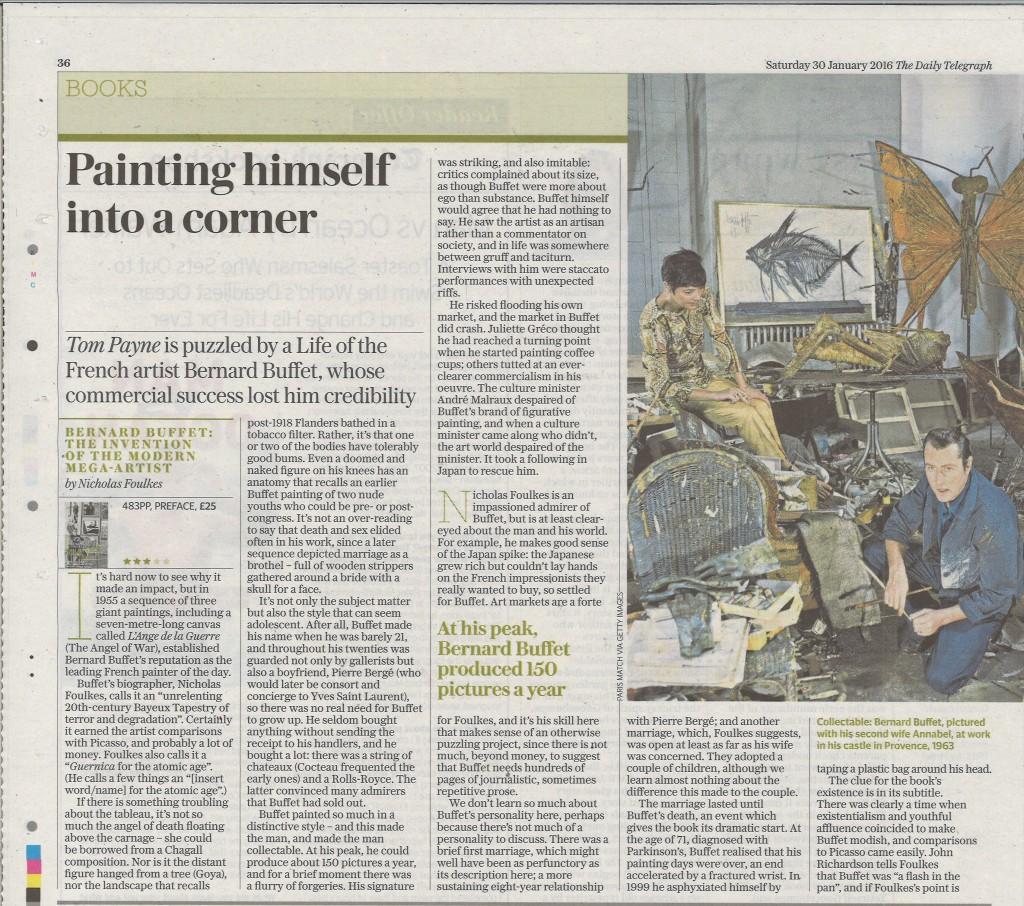 Daily Telegraph p.1 30.1.16
